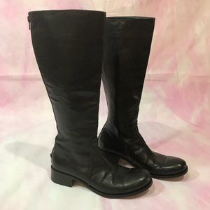 Gianni Barbato Leather Knee-High Boots w/ Tags supply clearance cheap cheap browse original cheap price Cheapest for sale tGtha
